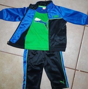 Baby (infant) puma track suit